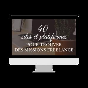 Trouver des clients, avoir des missions...PDF sites et plateformes pour freelance